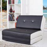 Кресло-кровать кожаное