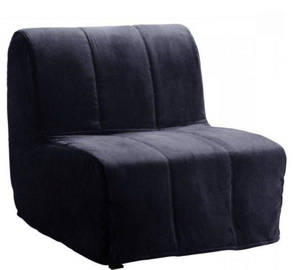 Кресло-кровать темно-синевого цвета