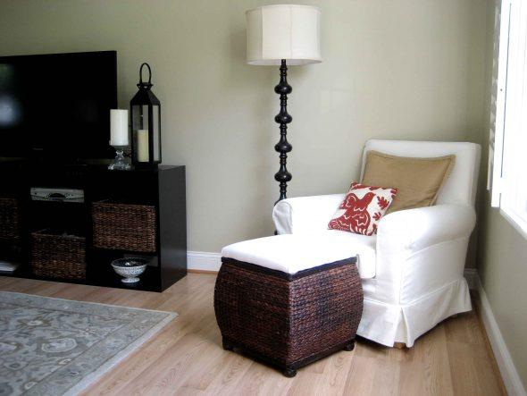 Кресло-кровать в дизайне комнати