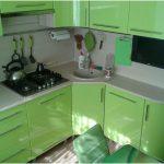 Кухонные гарнитуры для хрущевок