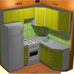 Кухонные гарнитуры для хрущевок планеровка