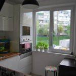 Кухонный гарнитур для маленькой кухни 7 кв.м