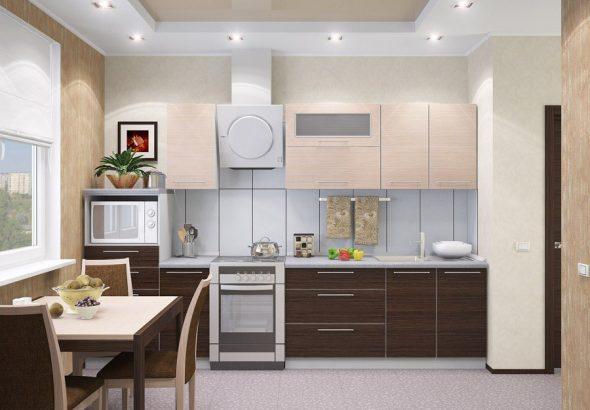 Модные сочетания цветов в кухонной мебели