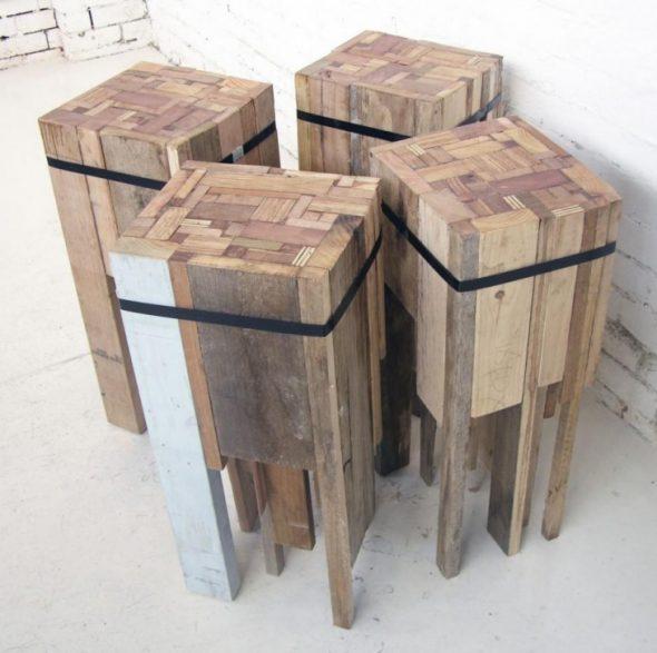Оригинальные стулья своими руками
