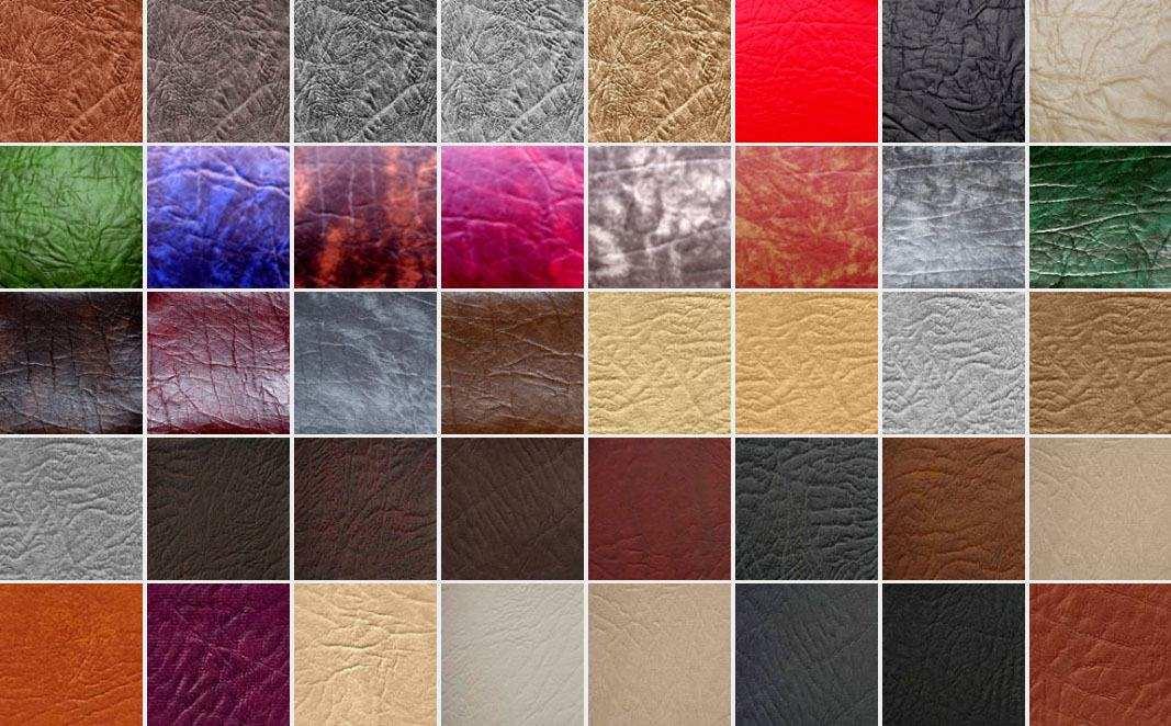 Отделка мебели искусственной кожей