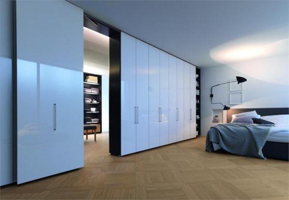 Перегородки в спальне