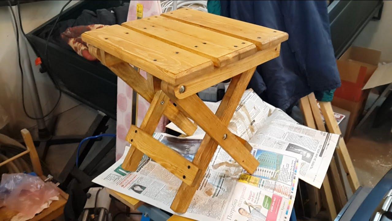 Раскладной стул своими руками