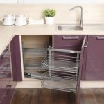 Разнообразие мебели для небольшой кухни