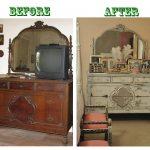 Реставрация советской лакированной мебели