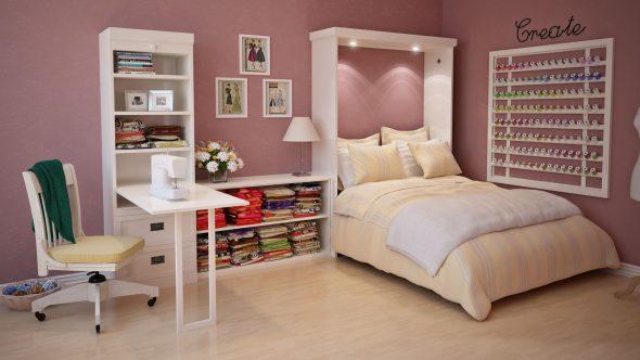 Шкаф-кровать Елса