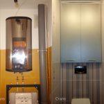 Шкаф в туалет - реальные фото