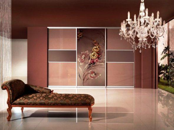Шкафы-купе дизайн фасадов