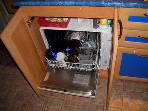 Варианты установки посудомоечной машины на кухонном гарнитуре