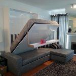 Встроенная кровать в дизайне комнаты