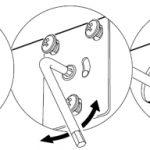 Выравнивание дверей в шкафу-купе