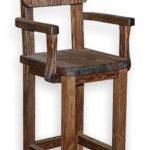 Высокий деревянный стул своими руками