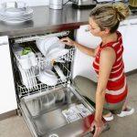 Высота встраиваемой посудомойки