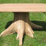 Журнальный столик из пня-2