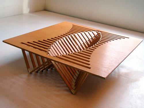 Журнальный столик своими руками из дерева