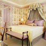 балдахин над кроватью дизайн