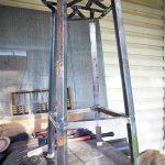 барный стул металлический железный своими руками