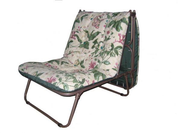 цветочное кресло-кровать