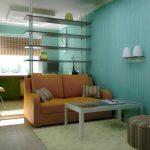 детская мебель для узкой комнаты