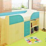 Кровать-чердак для современных детей