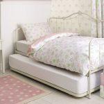 детская выдвижная кровать стильная