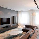 дизайн интерьера с мебелью