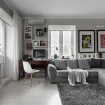 дизайн интерьера и мебели в квартире