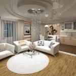 дизайн интерьера и расстановка мебели