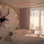 дизайн маленькой спальни пастельные тона