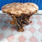 стол из сруба горного тополя