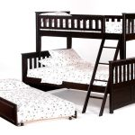 двухъярусная кровать темная