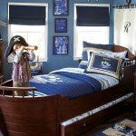 двухъярусная выдвижная кровать корабль