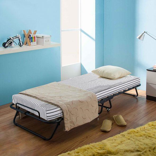 компактная односпальная кровать