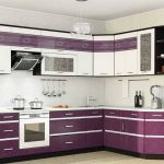 красивый кухонный гарнитур