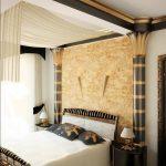 маленькая спальня восточный стиль