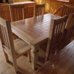 мебель из светлого дерева