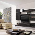 мебель в интерьере зала