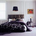 мягкое изголовье кровати