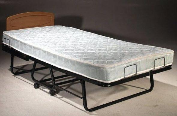 обычная складная кровать