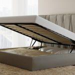 ортопедическое основание кровати из узких ламелей