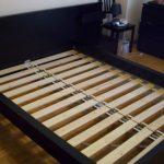 ортопедическое основание кровати с широкими ламелями
