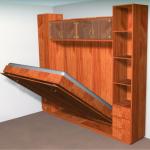 Откидная кровать деревянная