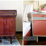 покрасить лакированную мебель