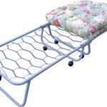 раскладная кровать металлическая