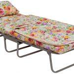 раскладная кровать с цветным матрасом