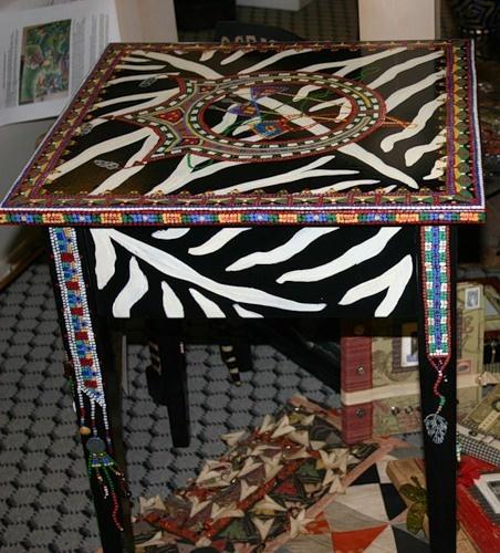реставрация росписю мебели